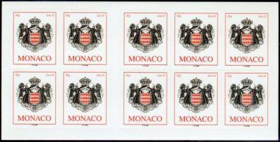 armoiries timbre de monaco n 2535a mis en 2006. Black Bedroom Furniture Sets. Home Design Ideas
