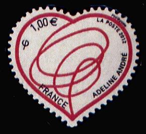Saint Valentin Coeur 2012 d'Adeline Andrée créatrice de mode
