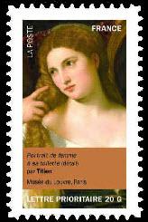 Portraits de femmes dans la peinture, Portrait de femme à sa toilette (détail) par Titien Musée du Louvre, Paris