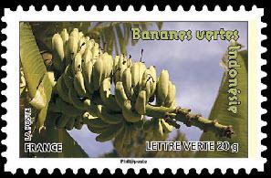 Des fruits pour une lettre verte, Bananes