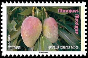 Des fruits pour une lettre verte, Mangues