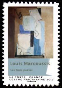 Carnet «Peintures du XXème siècle - Cubisme», Louis Les trois poètes (1929)