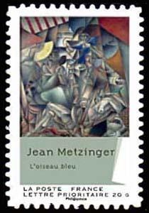 Carnet «Peintures du XXème siècle - Cubisme», L'oiseau bleu (1912-1913)