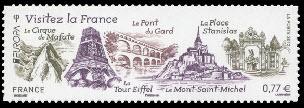 Europa, visitez la France