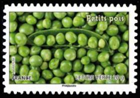 Des légumes pour une lettre verte, Petits pois