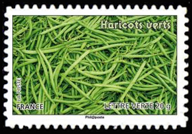 Des légumes pour une lettre verte, Haricots verts