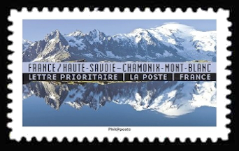 carnet reflets paysages du monde france chamonix timbre n 1362 origine. Black Bedroom Furniture Sets. Home Design Ideas