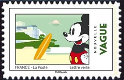 Mickey visite les monuments français - Surfe sur la vague
