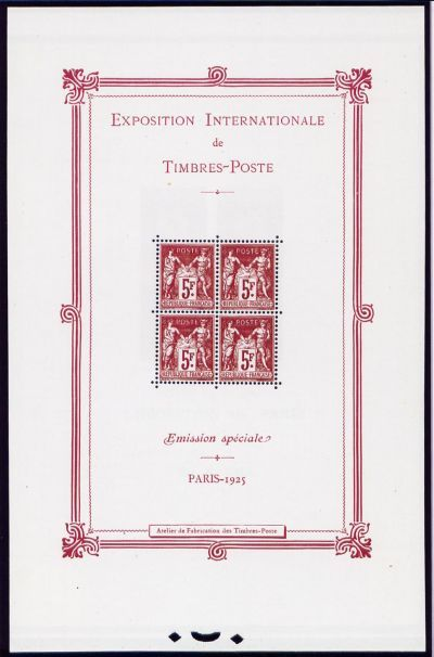 Exposition philatélique internationale de Paris 1925