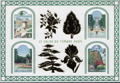 Salon du timbre timbre bloc feuillet n 71 origine for Salon du timbre 2017