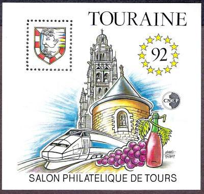 Salon philatélique de Tours, TOURAINE