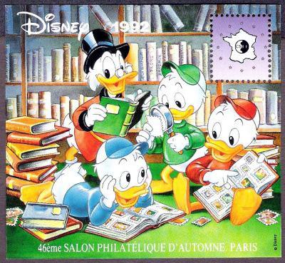 Salon philatélique d'Automne à Paris, DISNEY 92'