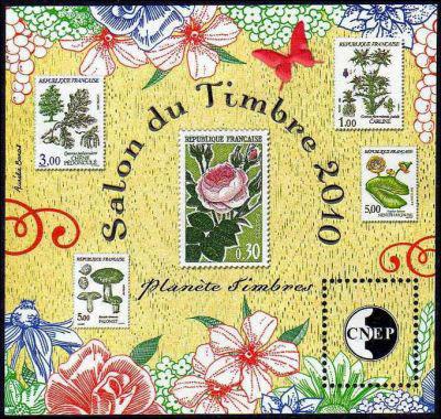 Salon du timbre 2010 timbre cnep n 56 origine france for Salon du timbre 2017