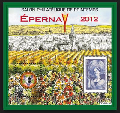 Salon philatélique de Printemps à Epernay