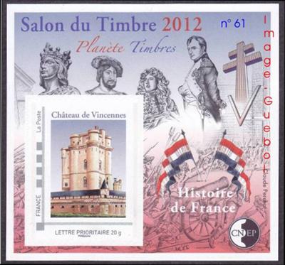 Salon du timbre 2012