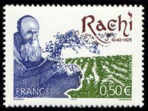 Rachi (1040-1105) Théologien juif de la Bible et du Talmud