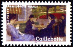 Peinture : les impressionnistes Gustave Caillebotte « Portrait à la campagne » 1876