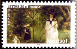 Peinture : les impressionnistes Berthe Morisot « La chasse aux papillons » 1874