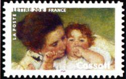 Peinture : les impressionnistes Mary Cassatt « Mère et enfant » 1886