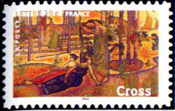 Peinture : les impressionnistes Henri-Edmond Cross « L'air du soir » 1893/94