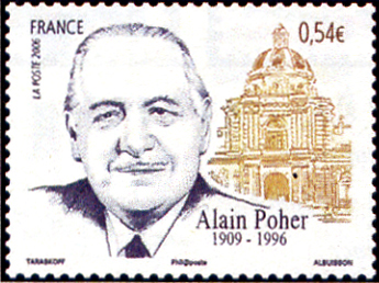 Alain Poher (1909-1996)
