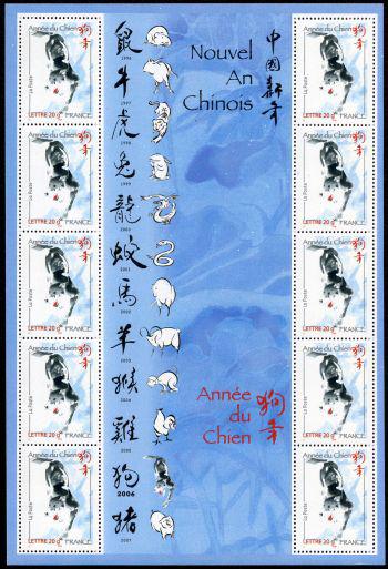 Année lunaire chinoise du chien