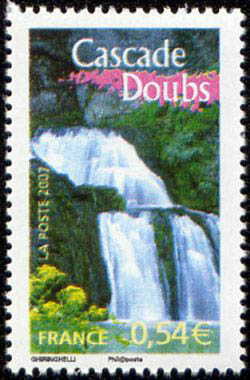 La cascade du Doubs