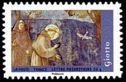 Scénes de la vie de St François du peintre Giotto di Bondone (1266-1337)