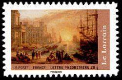 Port de mer au soleil couchant du peintre Le Lorrain (1600-1682)