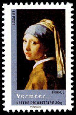 La jeune fille à la perle du peintre Jan Vermeer (1632-1675)