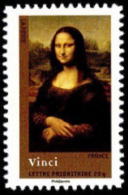 La Joconde du peintre Léonard de Vinci (1452-1519)