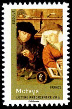Le prêteur et sa femme du peintre Quentin Metsys (1465-1530)