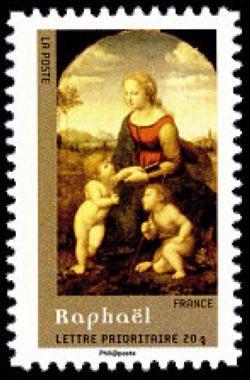La belle jardinière du peintre Raphaël (1483-1520)