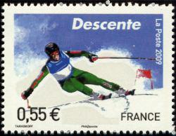 Championnats du Monde de ski alpin à Val d'Isère, La descente