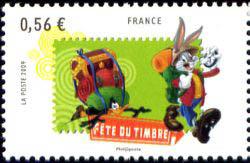 Bugs Bunny et Daffy Duck en randonnée