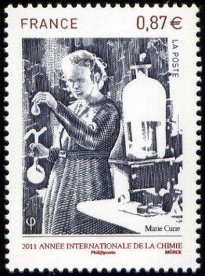 2011 année internationale de la chimie, Marie Curie
