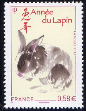 Le Nouvel-An chinois, année du lapin