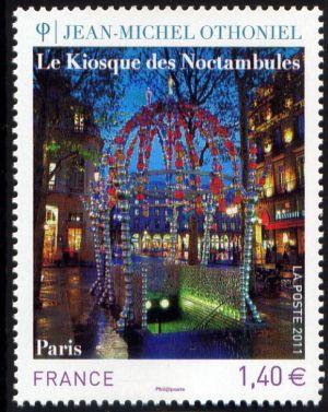 Le kiosque des noctambules de Jean-Michel Othoniel