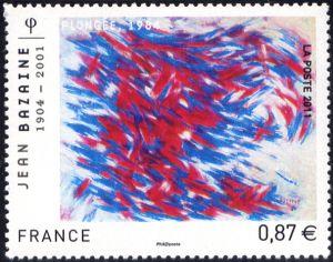 Jean Bazaine 1904-2001 «Plongée 1984»