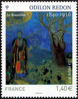 Le Bouddha (Odilon Redon 1840-1616)