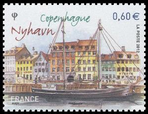 Copenhague ( Canal de Nyhavn)