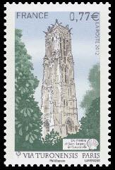 Les chemins de Saint-Jacques-de-Compostelle ( Tour St Jacques à Paris )