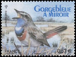 Gorgebleue à miroir - Ligue de Protection des Oiseaux - LPO 1912-2012