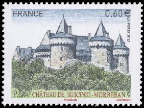 Château de Suscinio (Morbihan) Résidence des ducs de Bretagne, est situé au bord de Mor braz