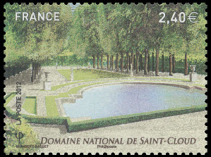 Jardins de France, Domaine National de Saint-Cloud, Bassin des Trois Bouillons