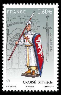 Soldats de plomb - Croisé XIIème siècle