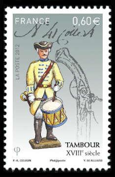 Soldats de plomb - Tambour XVIIIème siècle