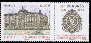 85ème congrès de la fédération des associations philatéliques au musée d'Orsay