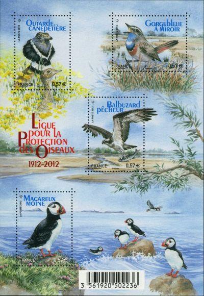 Centenaire de la ligue pour les protection des oiseaux
