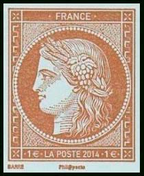Salon du timbre 2014 timbre n 4872 for Salon du timbre 2017